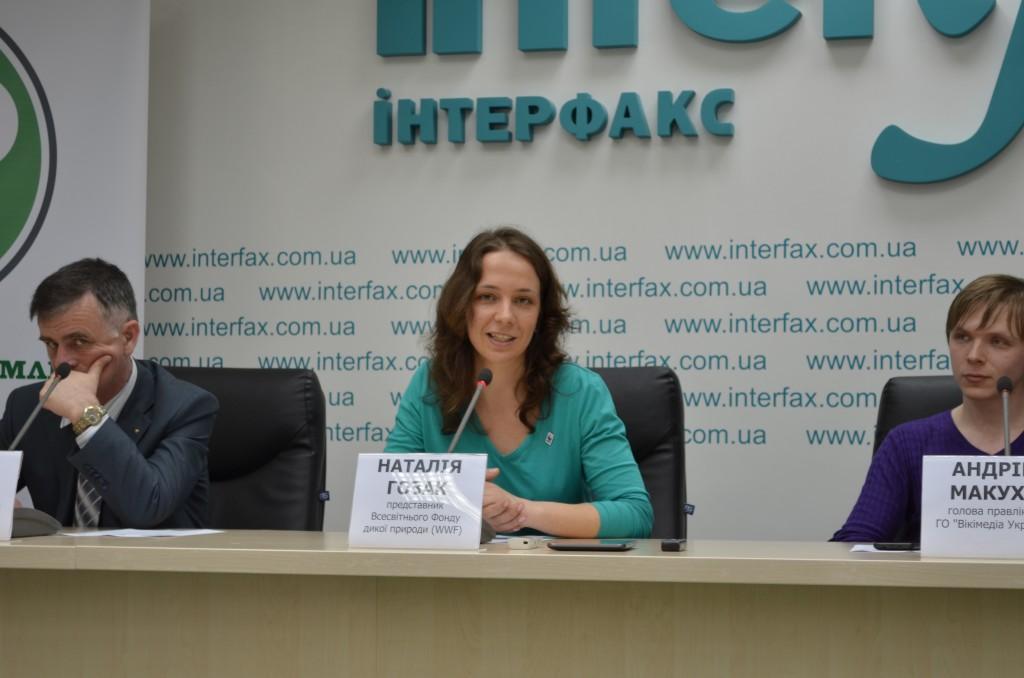 Наталія Гозак розповідає про особливості діяльності WWF в Україні та підтримку конкурсу «Вікі любить Землю»